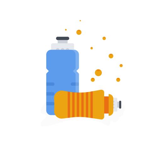 Icône de bouteilles