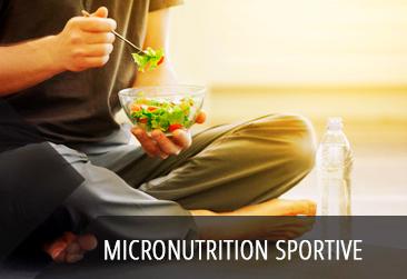 Micronutrition sportive, une jeune discipline