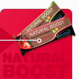 purée fruit natural boost ergysport